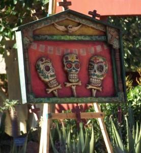 Dia de los Muertos diorama