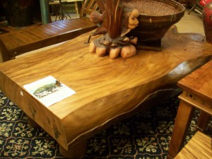Samanea saman (Rain Tree) table
