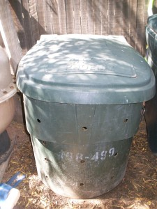 Almost Free Compost Bin