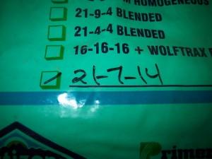 N-P-K Values on a Fertilizer Label